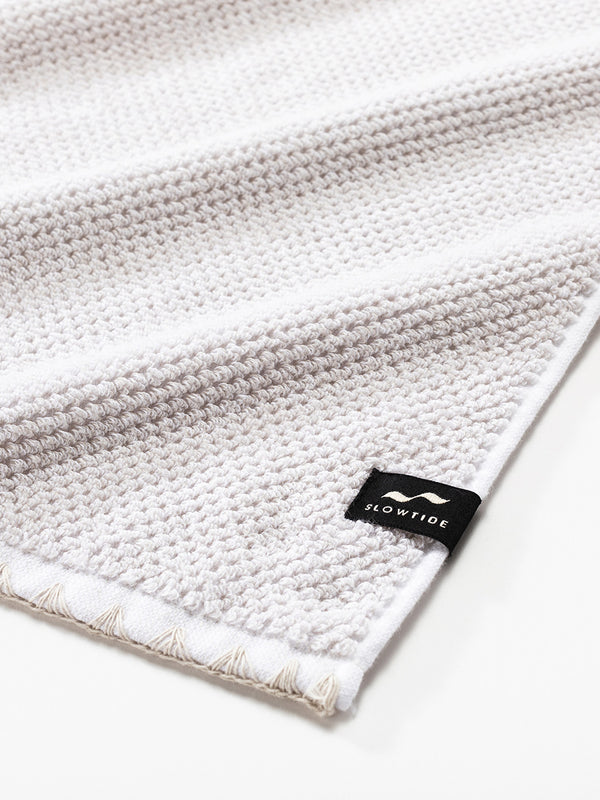 Luxe Hand Towel - Off White - Slowtide