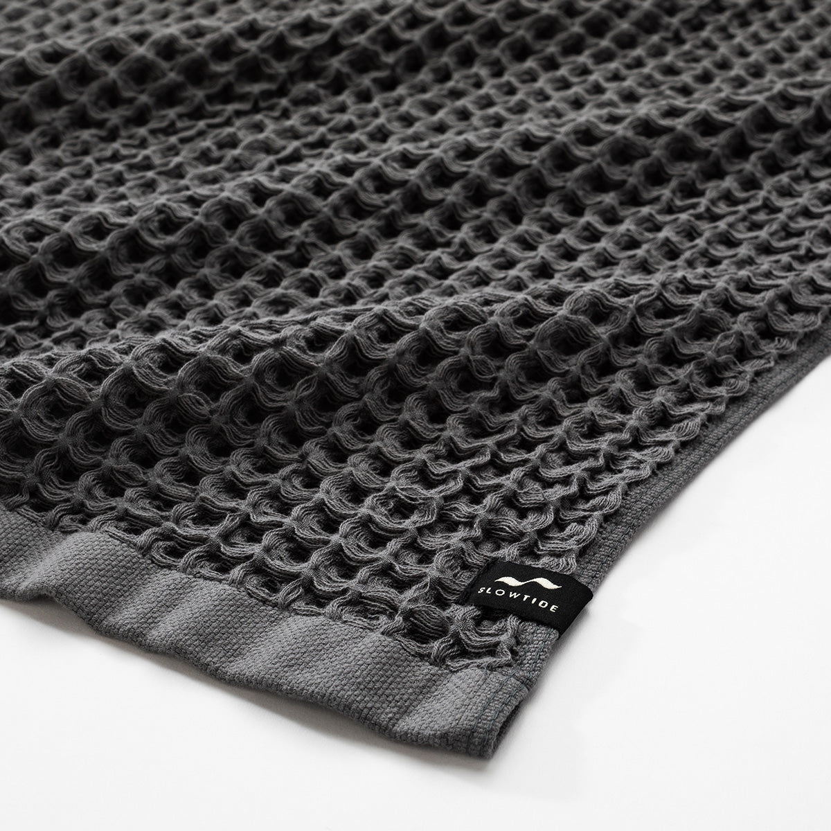 Guild Waffle Towel - Charcoal