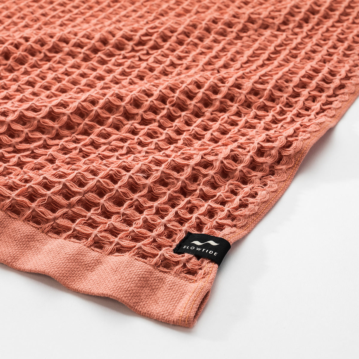Guild Waffle Towel Four-Piece Bundle - Terracotta - Slowtide