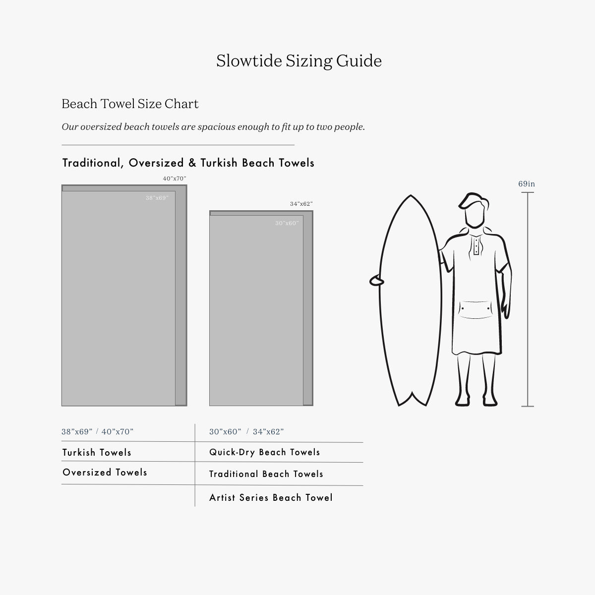 1619 Quick-Dry Towel - Slowtide