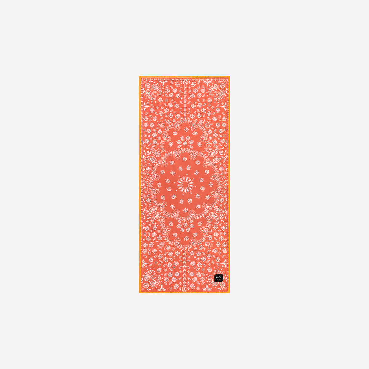 Paisley Park Microfiber Fitness Towel - Red - Slowtide