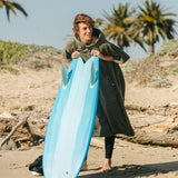 The Digs Changing Poncho - Green - Large - Slowtide