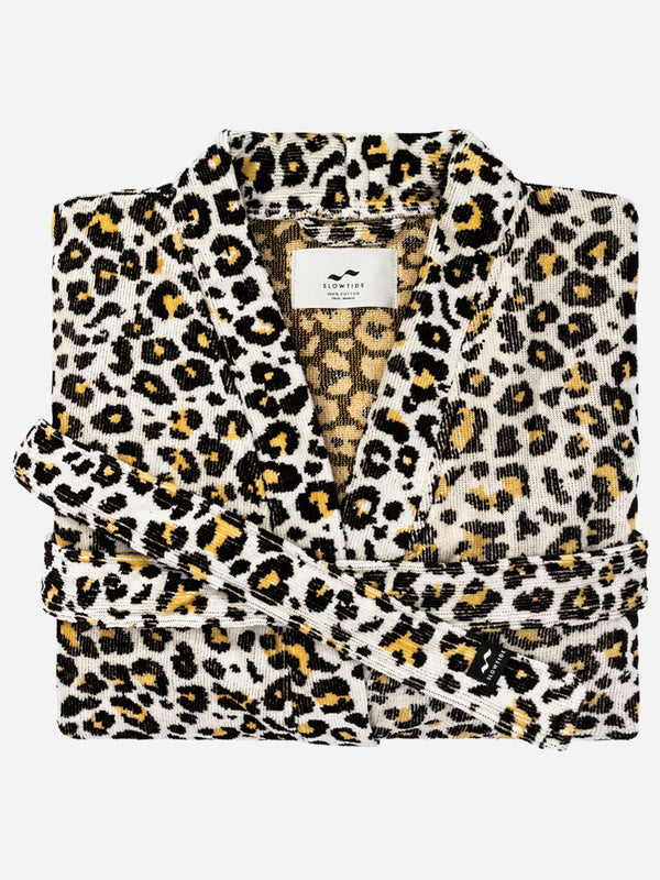 Cheetah Bath Robe - Large / XLarge - Slowtide