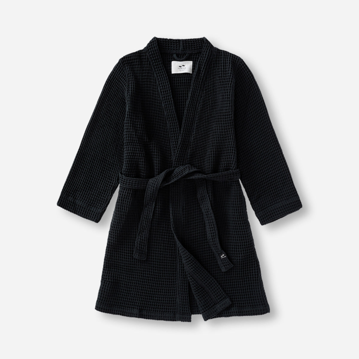 Guild Bath Robe - Black - Small / Medium - Slowtide