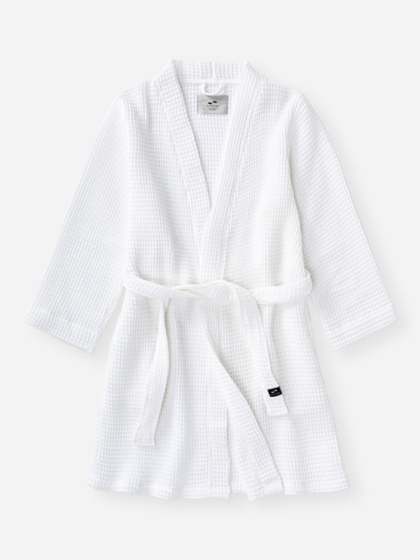 Guild Bath Robe - White - Small / Medium - Slowtide