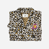 Lakers Robe - Cheetah - Small / Medium - Slowtide
