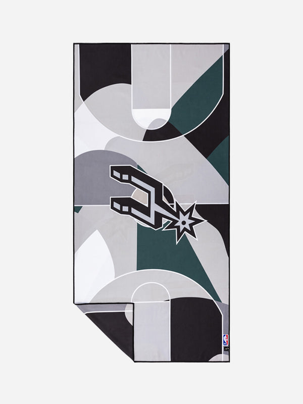 Spurs Court Camo Quick-Dry Towel - Slowtide