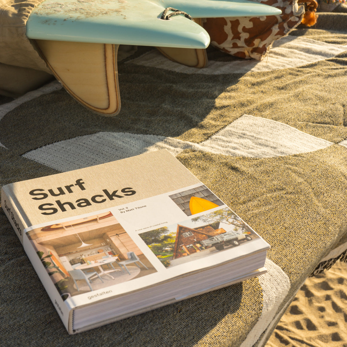 Indoek Surf Shacks Blanket - Slowtide