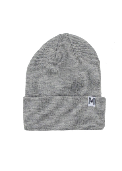 Grey Knit Toque