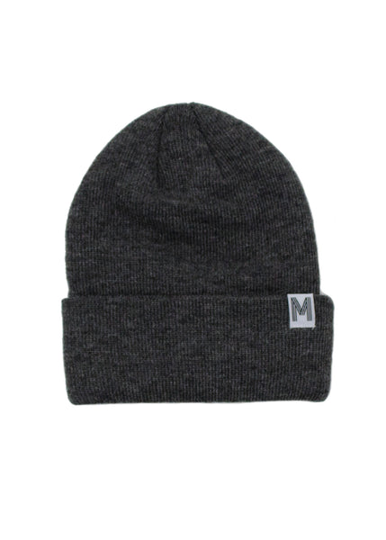Charcoal Knit Toque