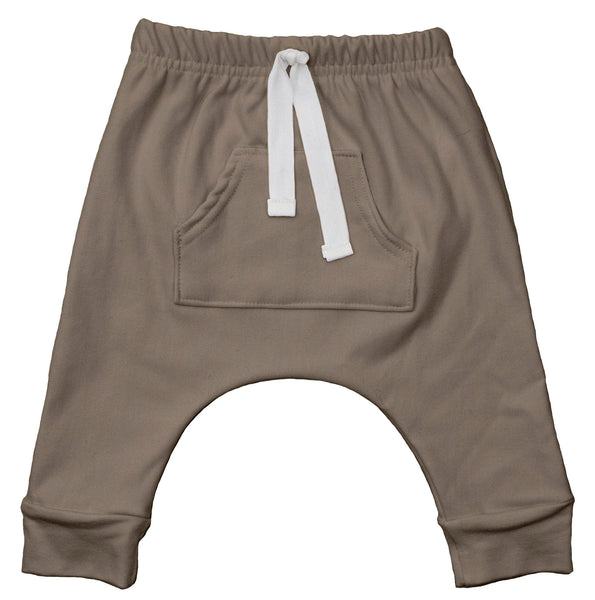 Tan Front Pocket Harems