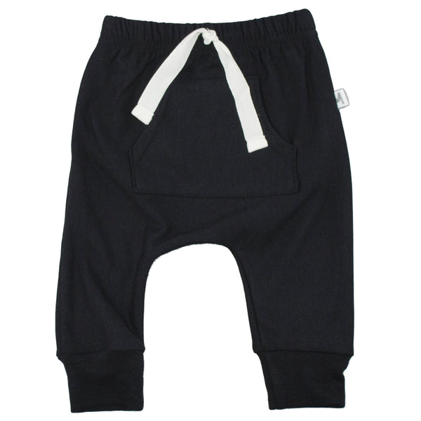 Black Front Pocket Harems