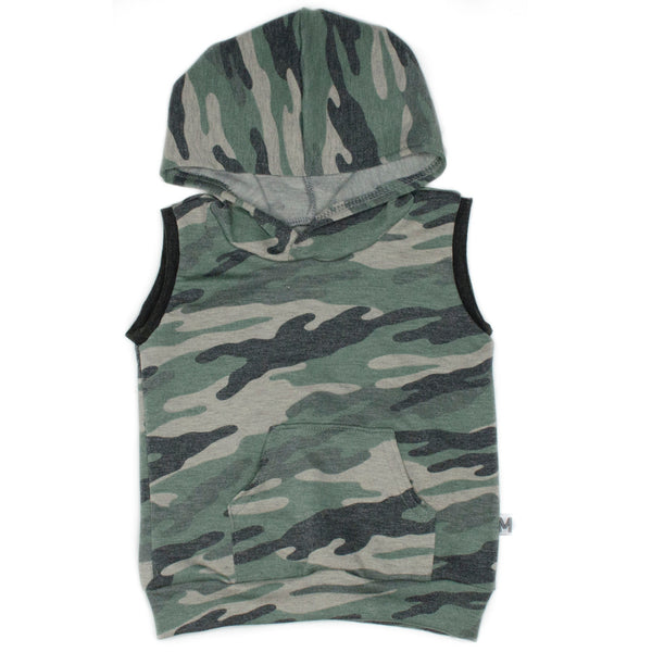 French Terry Sleeveless Hoodie - PRESALE ITEM