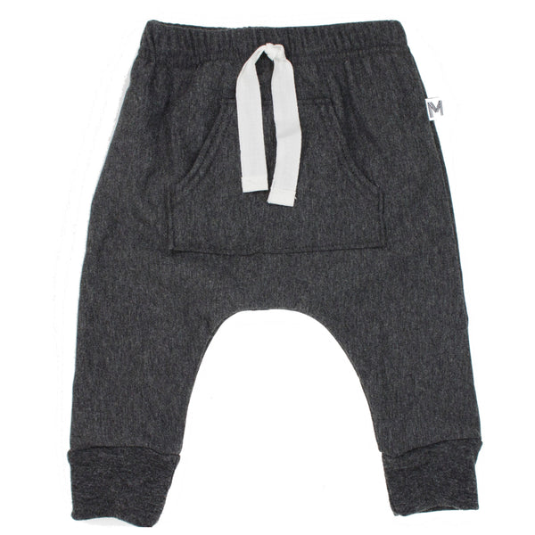 Charcoal Front Pocket Harems