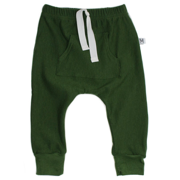 Green Front Pocket Harems