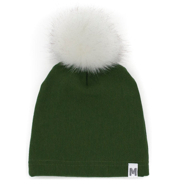Green Fleece Toque