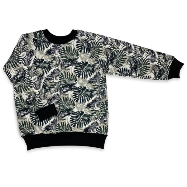 Jungle Raglan Pullover