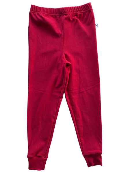 Red Skinny Joggers