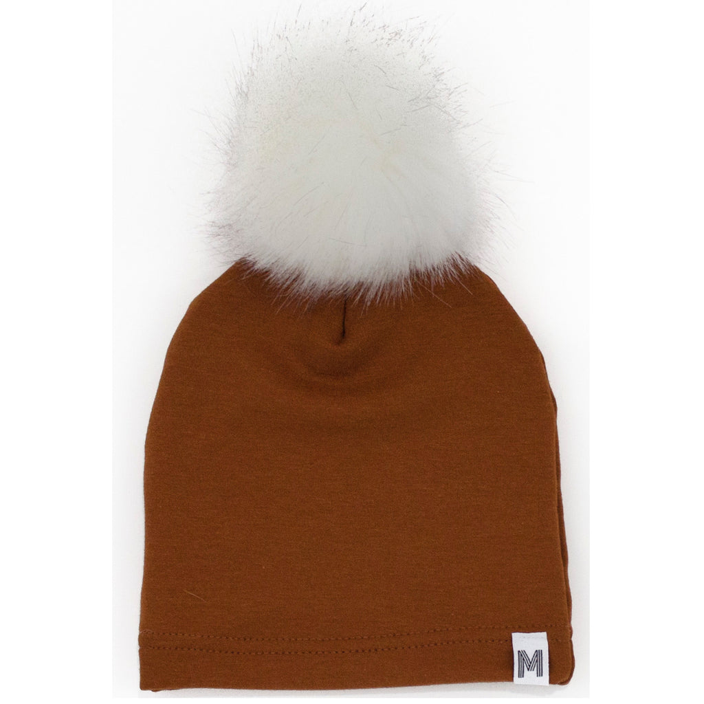 Rust Fleece Toque