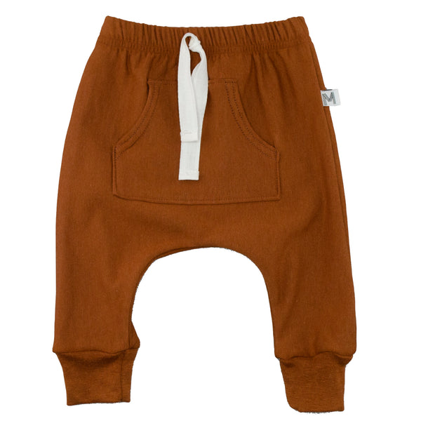 Rust Front Pocket Harems