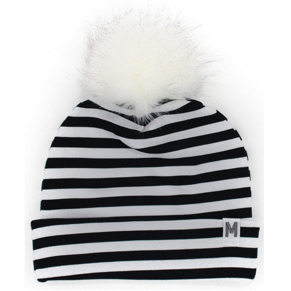 Stripe Flip Rim Toque