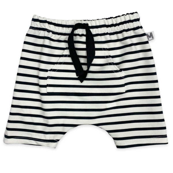 Stripe Harem Shorts
