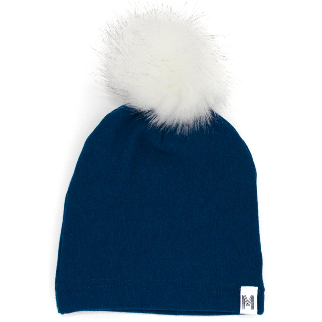 Teal Fleece Toque