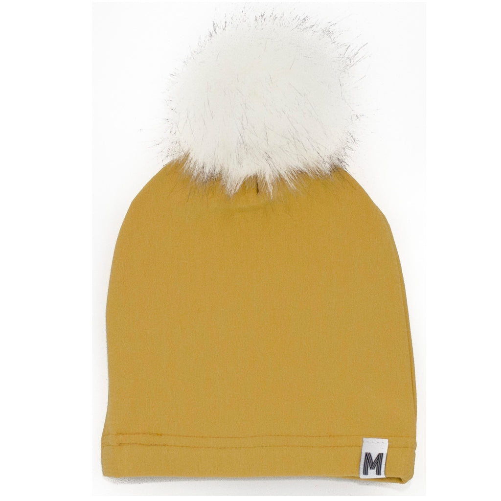 Yellow Fleece Toque