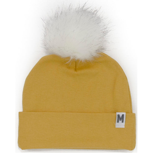 Yellow Flip Rim Toque