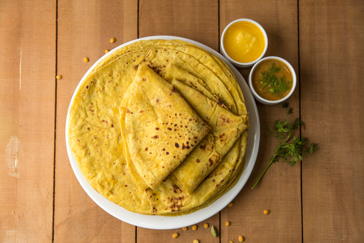 Telpoli, a Puran Poli with a twist.