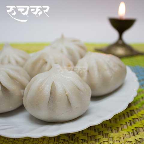 21 Steamed Ukadiche Modak Home Delivered