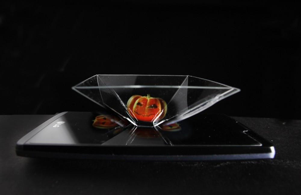 Authentic Smartphone 3D Hologram Projector