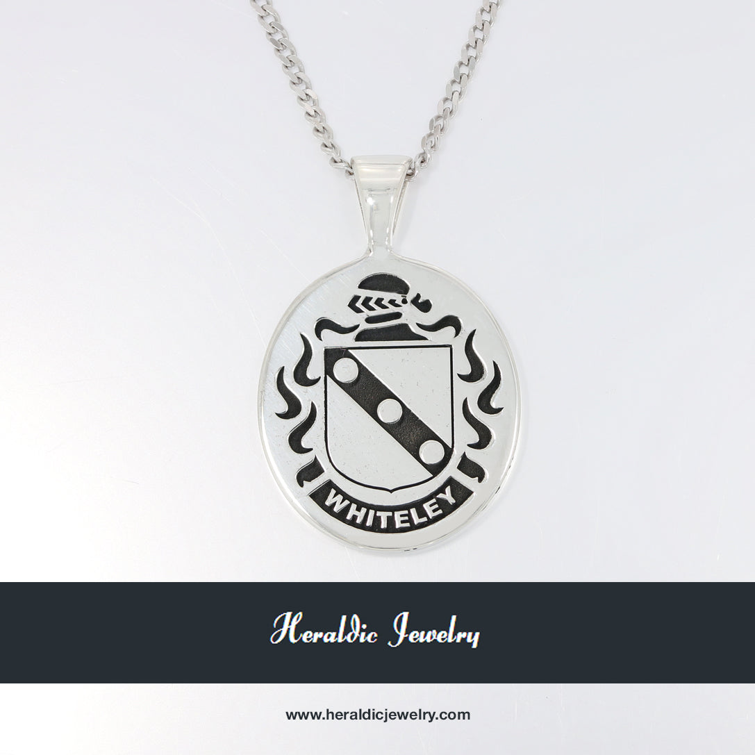 Whiteley family crest pendant