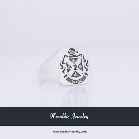 Wade family crest ring