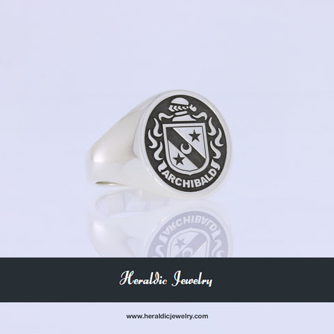 Archibald family crest ring