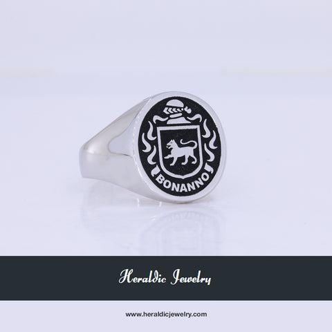 Bonanno family crest ring