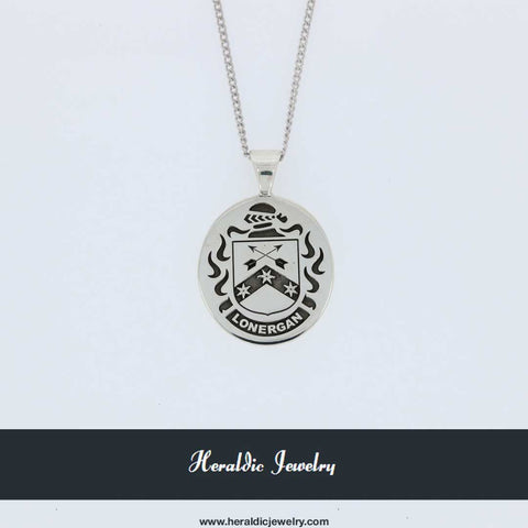 Lonergan family crest pendant