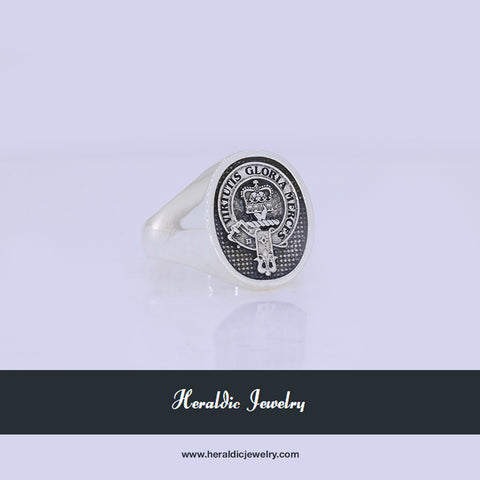 Robertson clan crest ring