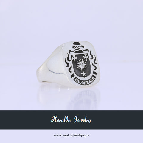 Gilcrease family crest ring