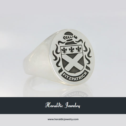 Fitzgpatrick coat of arms ring