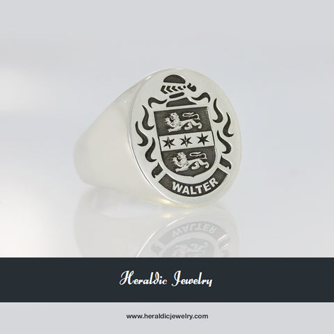 Walter family crest ring