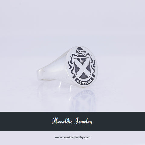 Gensler family crest ring