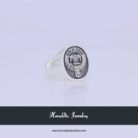 McLeod clan crest ring