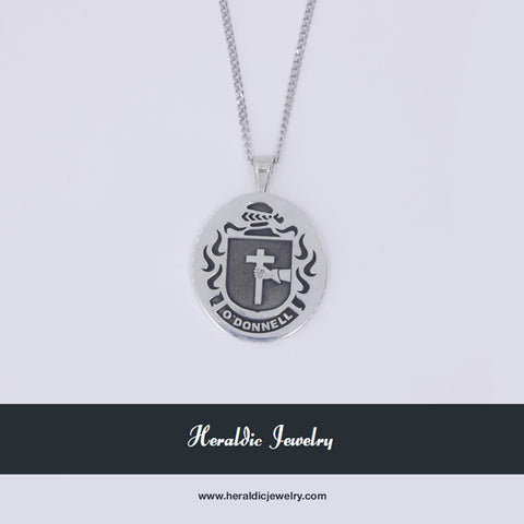 O'Donnell family crest pendant