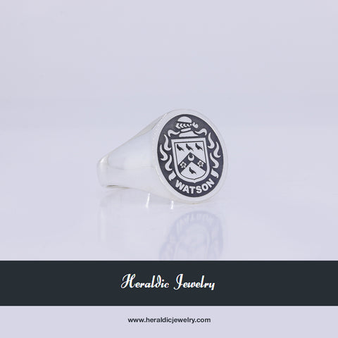 Watson family crest ring