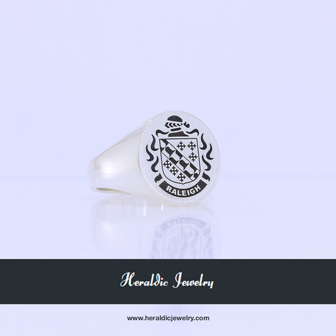 Raleigh family crest ring