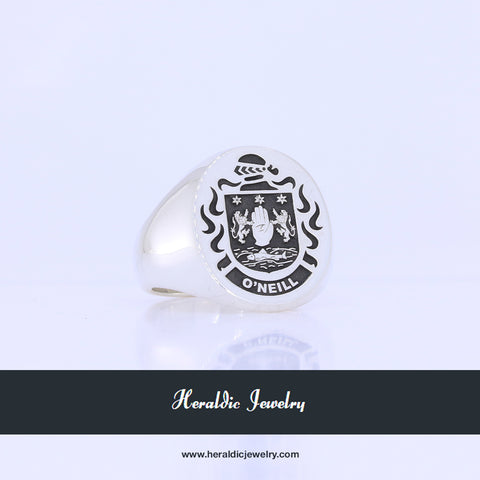 O'Neill coat of arms ring