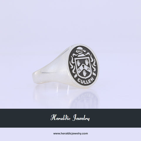 Cullen coat of arms ring