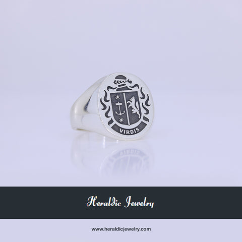 Virdis family crest ring