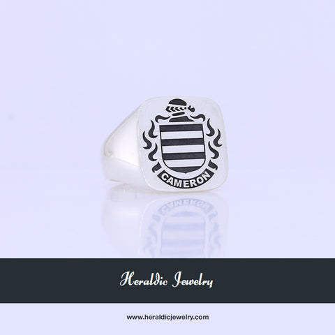 Cameron family crest ring
